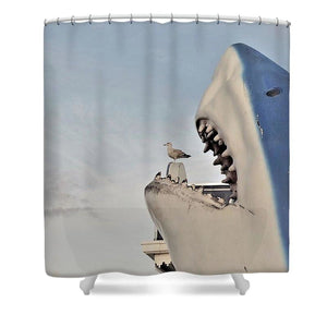 Caught Unaware - Shower Curtain