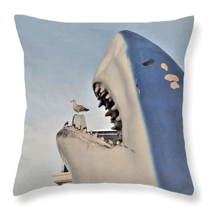 Caught Unaware - Throw Pillow