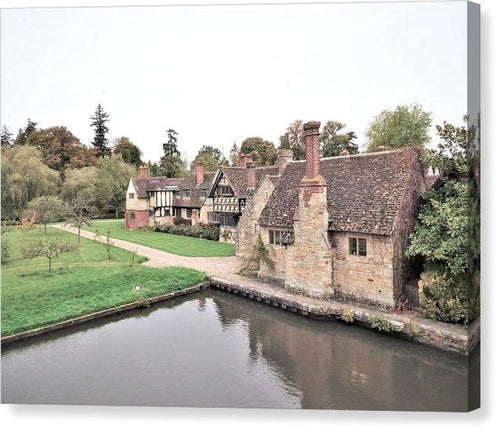 Charming Cottages - Canvas Print