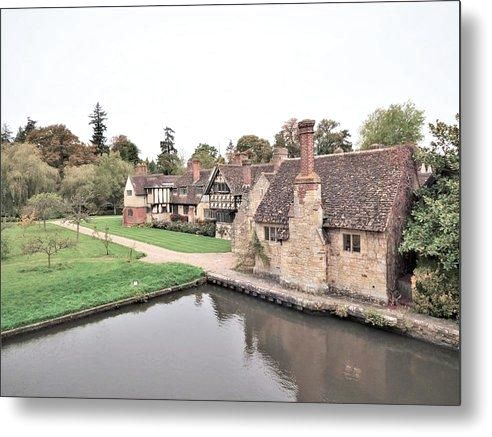 Charming Cottages - Metal Print