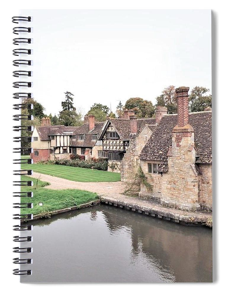 Charming Cottages - Spiral Notebook
