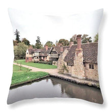 Charming Cottages - Throw Pillow