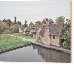 Charming Cottages - Wood Print