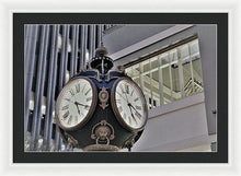 Clock Tower - Framed Print