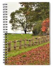 Fallen Leaves - Spiral Notebook