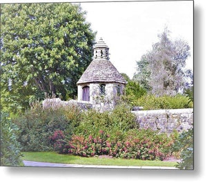 Garden Tower - Metal Print