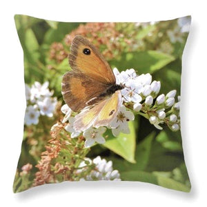 Gentle Blossom - Throw Pillow