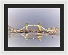 Gold Reflections - Framed Print