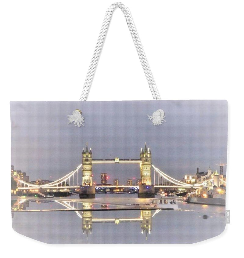 Gold Reflections - Weekender Tote Bag