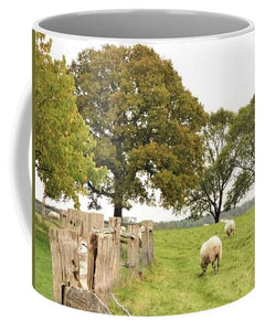 Grazing The Field - Mug