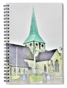 Hidden Chapel - Spiral Notebook