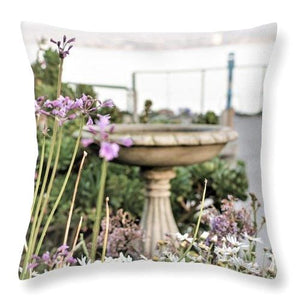 Love In Bloom - Throw Pillow