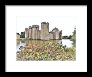 Outside The Gates - Framed Print