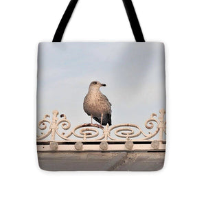 Perched Up High - Tote Bag