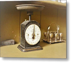 Scaling Back Time - Metal Print