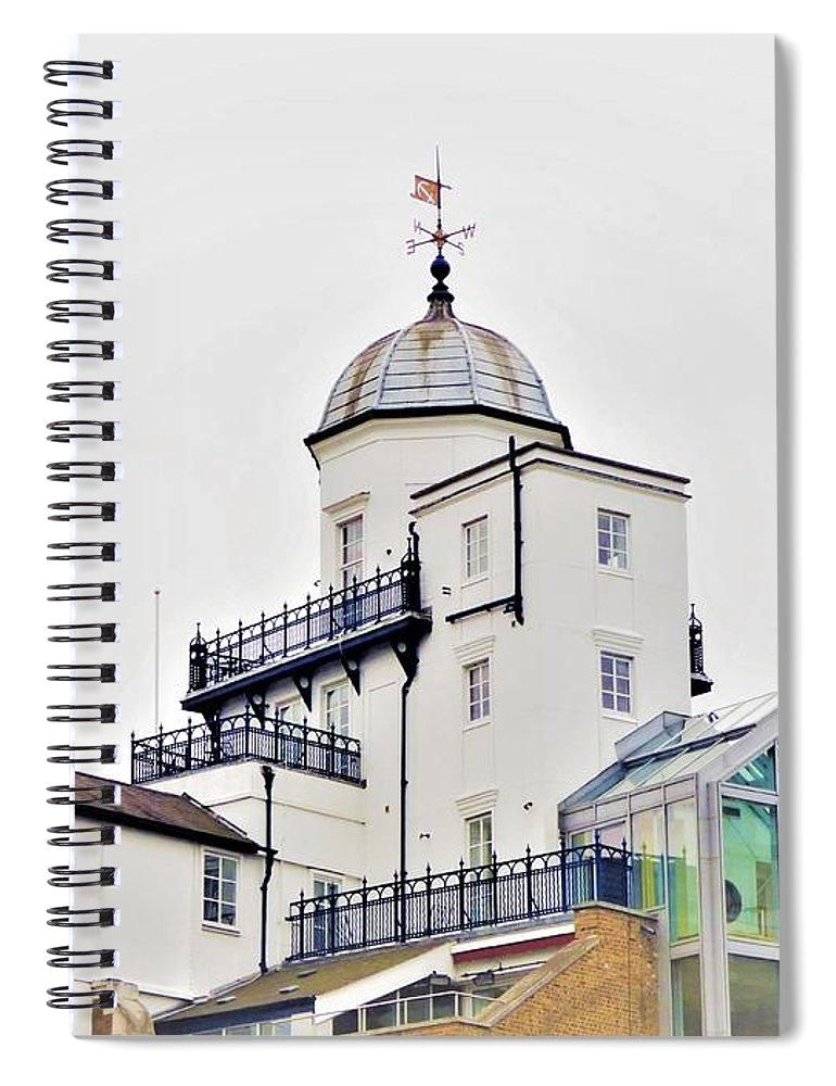 Seaside Rooftop - Spiral Notebook