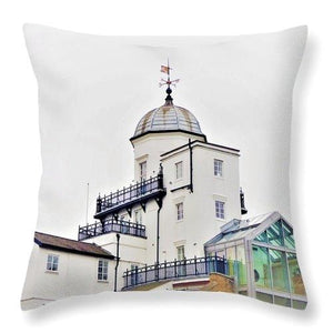 Seaside Rooftop - Throw Pillow