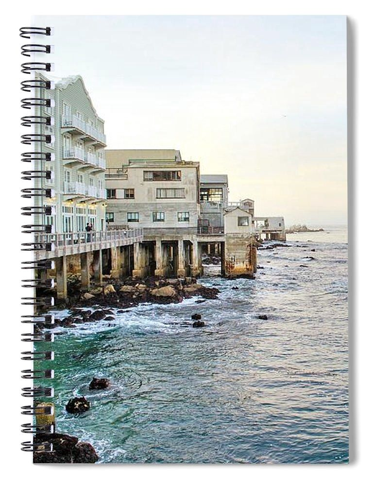 Sunset Waters - Spiral Notebook