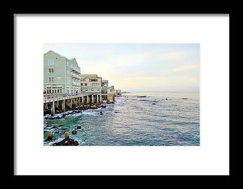 Sunset Waters - Framed Print