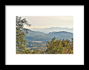 Wine Country - Framed Print