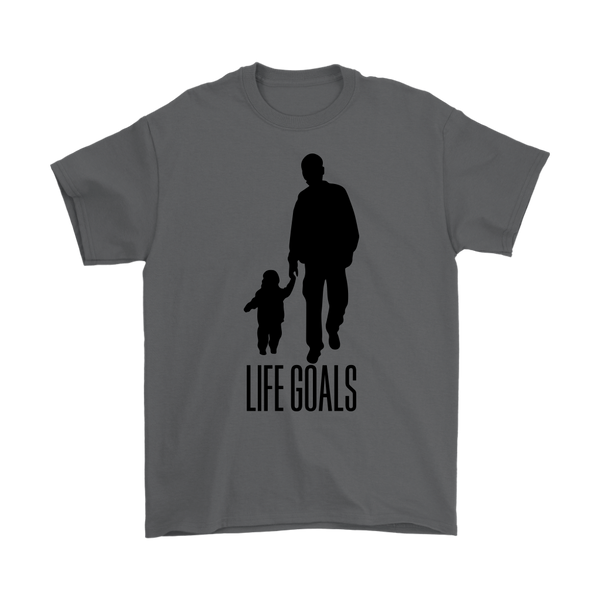 Life Goals Men T Shirt - everbabies