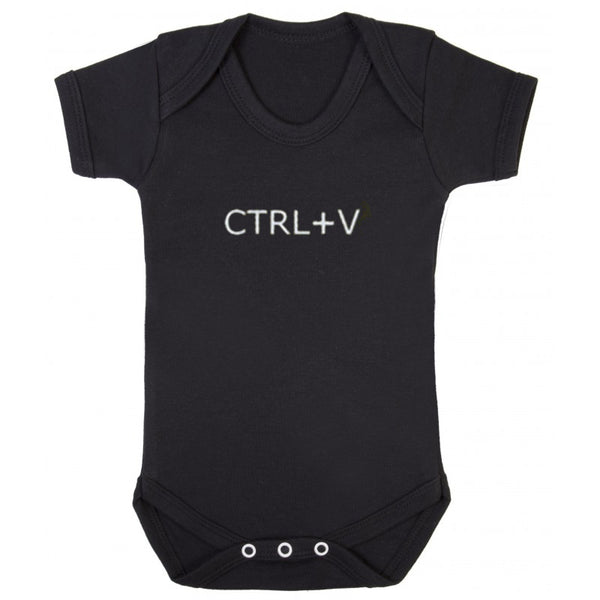 Dad and Baby Matching T-shirt and Onesie - Ctrl+C & Ctrl+V - everbabies