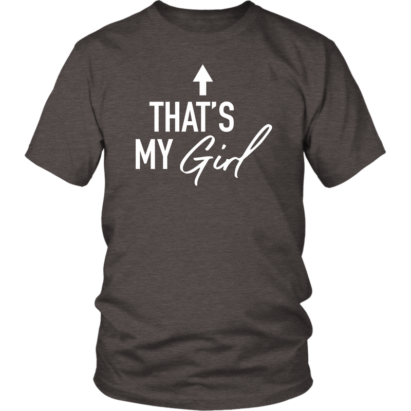 Thats My Girl Dad T Shirt - everbabies