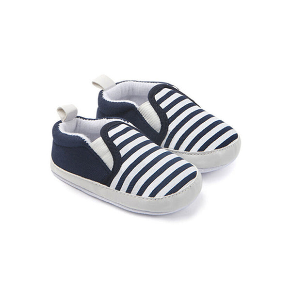 Baby Soft Sole Striped Shoes - everbabies