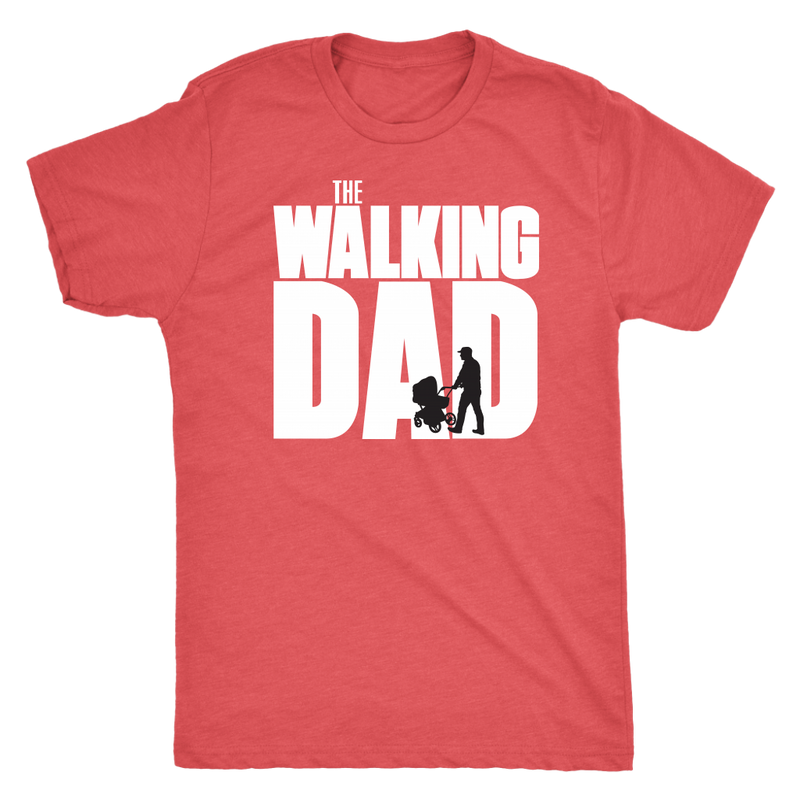 The Walking Dad Mens T Shirt - everbabies