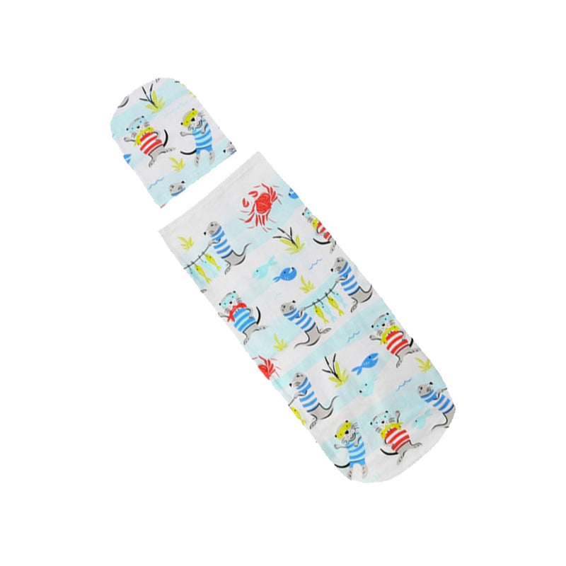 Swaddle and Beanie Set - everbabies
