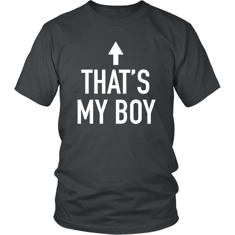 Thats My Boy Dad T Shirt - everbabies