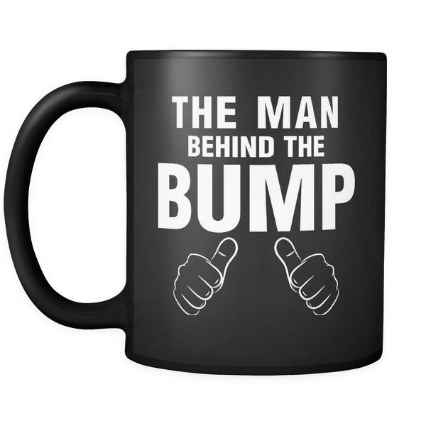 Man Behind The Bump Dad Mug - everbabies
