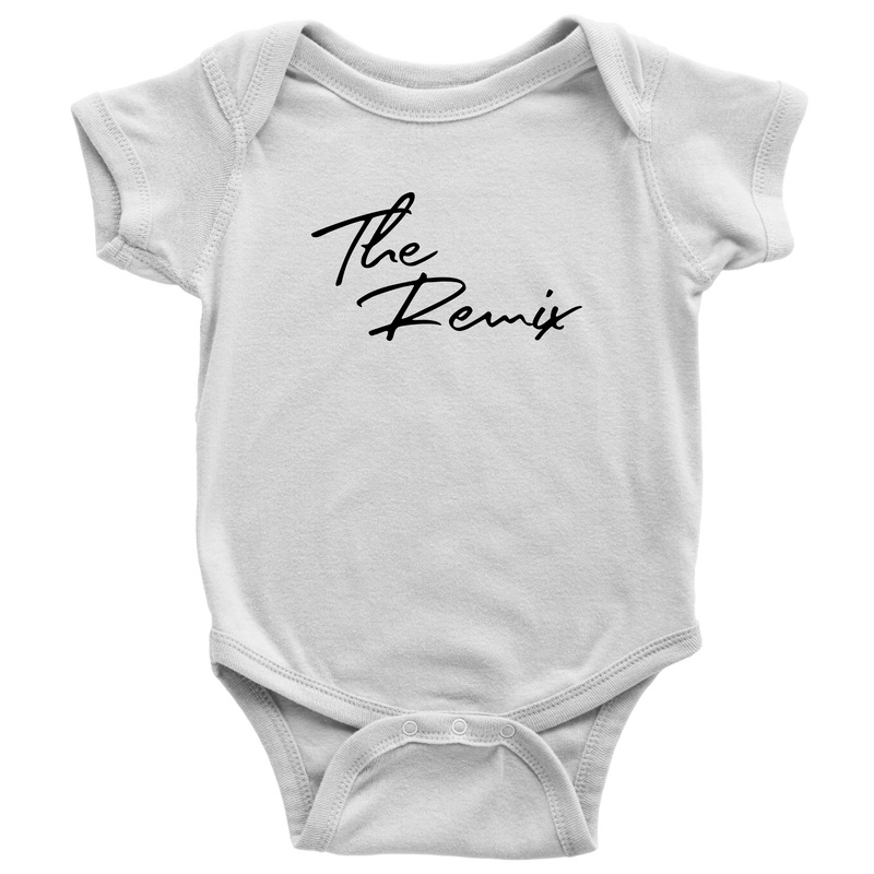 The Original and Remix Dad and Baby T Shirt Onesie Set - everbabies