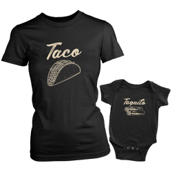 Taco and Taquito Mom and Baby Set - everbabies