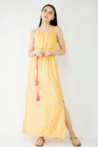 Silk Long Maxi Dress - Stock Alert -S-2 , M -2 , L-1
