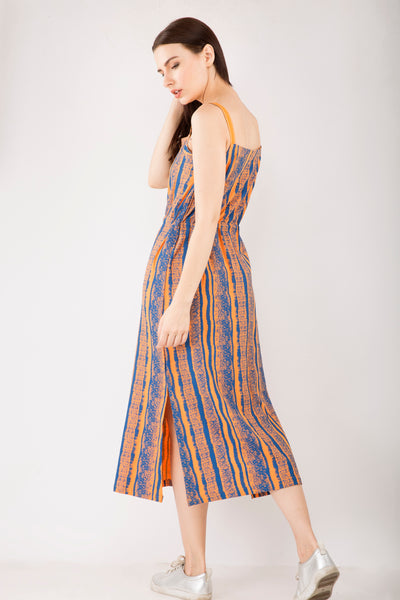 Stripes Maxi Dress , Sizes Left - M-1 , L-1