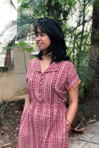 DayLily Dress - Dusty Pink