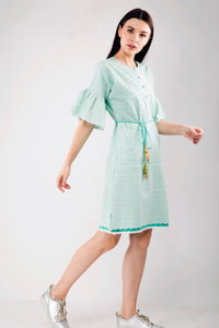 Chikan Shift Dress , Sizes Left - S-1 , M-2