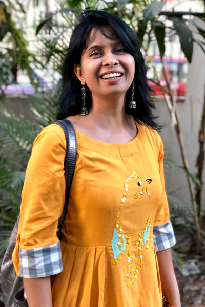 Chidiyaa -Yellow Tunic