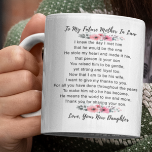 Lurve™ To My Future Mother In Law Mug