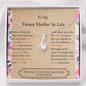 Lurve™ Future Mother In Law - Thank You Alluring Beauty Necklace