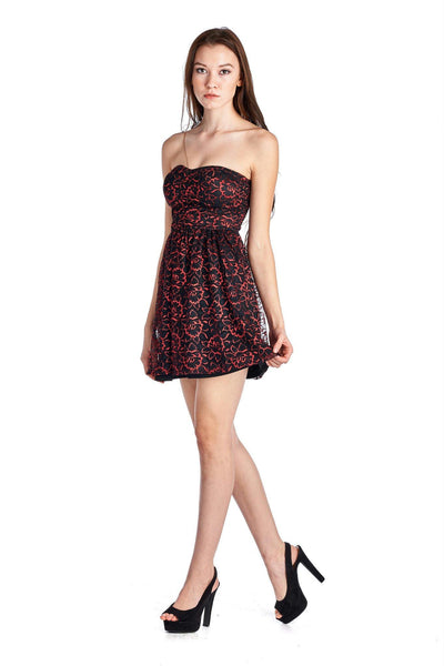 Women's Floral Lace Dress