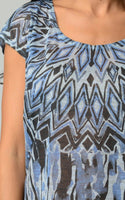 Women's Printed Jersey Top