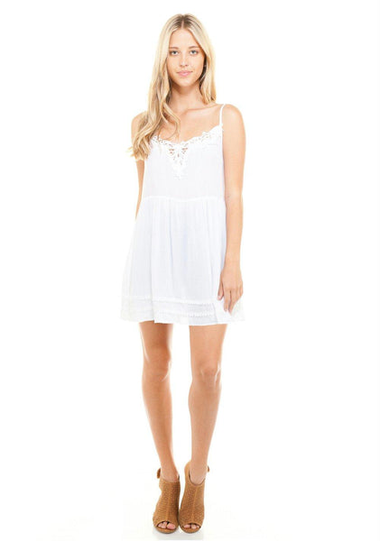 Women's Short Crochet Flow Dress