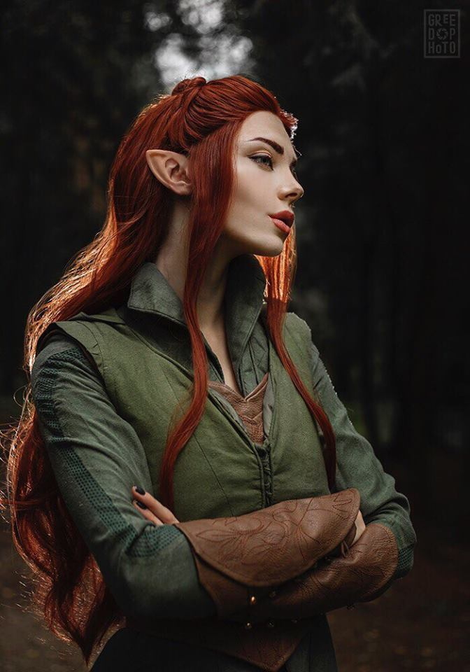 【Cosplaysky】The Hobbit Elf Tauriel Outfit