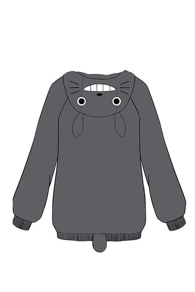 My Neighbor Totoro Tonari no Totoro Hoodie Coat Cosplay Costume