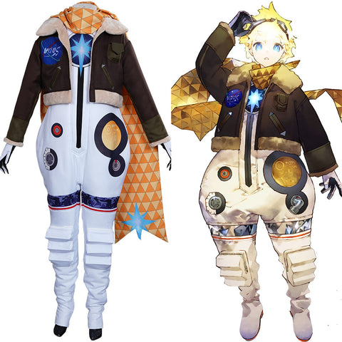 FGO Fate/Grand Order The Little Prince Halloween Carnival Suit Cosplay Costume Coat Jumpsuit Outfits