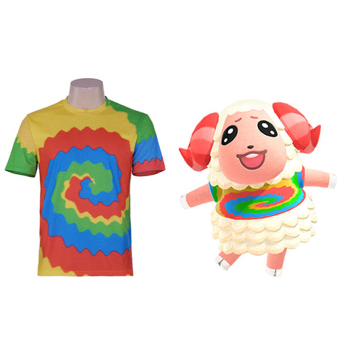 Animal Crossing: New Horizons-Dom Cosplay Costume Print T-shirt