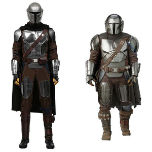 The Mandalorian Season 2 -Din Djarin Halloween Carnival Suit Cosplay Costume Dress Outfits