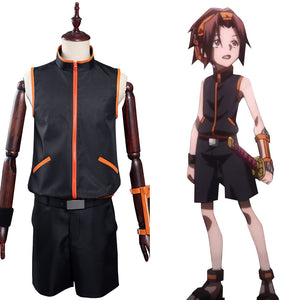 Shaman King The Super Star - Yoh Asakura Halloween Carnival Suit Cosplay Costume Outfits
